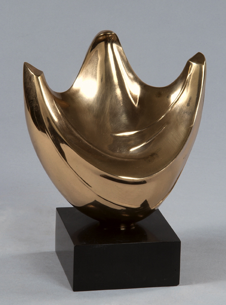 Hope-polished bronze
